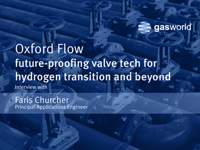 Oxford Flow future-proofing valve tech for hydrogen transition and beyond
