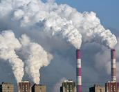 CO2 smoke Moscow carbon dioxide