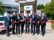 The linde group germany german hydrogen station h2 refuelling