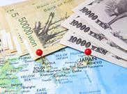 Japan financial map