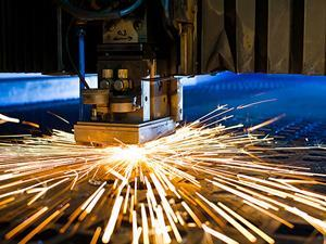 Laser cutting welding