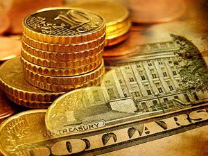 Dollars finance coins currency