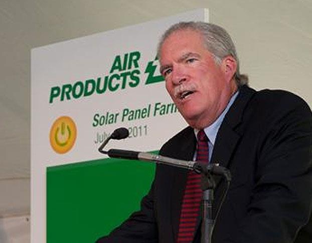 Air Products' before solar farm audience
